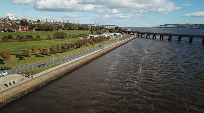 Dundee Flood Defence 1