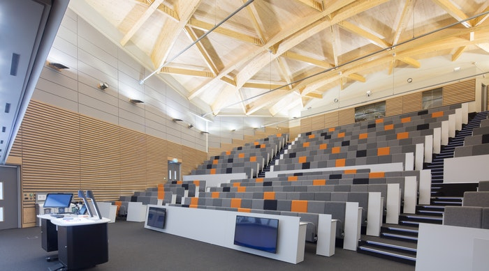 Low res Willmott Dixon The University Of Warwick Oculus Building Lecture Theatre