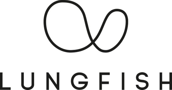 Lungfish logo dark