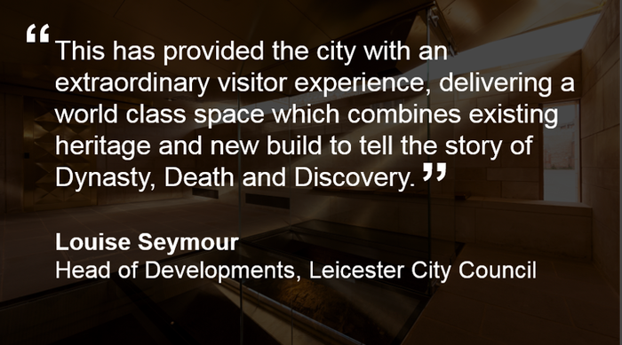 Morgan Sindall King Richard III Visitor Centre Quote 01