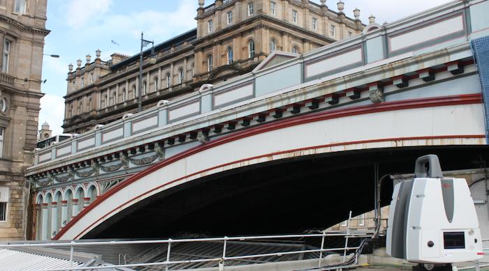 North Bridge Laser Scan 1