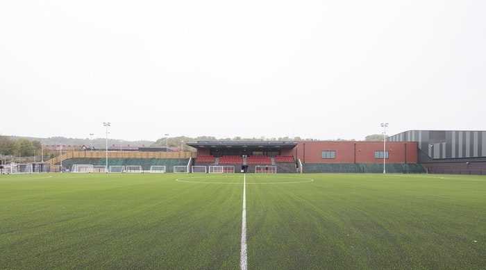 Scarborough FC pitch 2