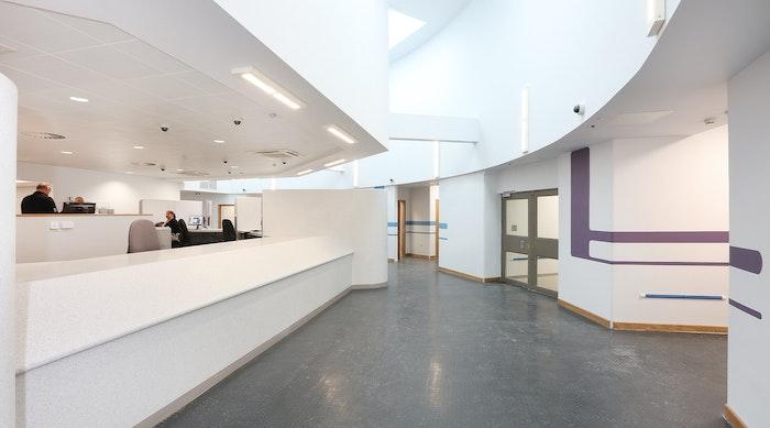 Sheffield Custody Suites entrance