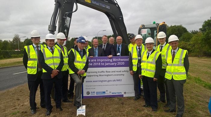 Warrington East Opening of Phase 2 3