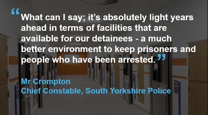 Willmott Dixon Sheffield Custody Suite Quote 01