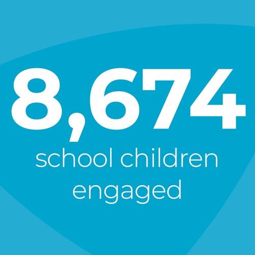 Scotland schoolchildren engaged